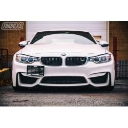 BMW F-Series Tow Hook License Plate Bracket